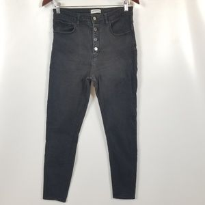 Zara woman high waist skinny jeans